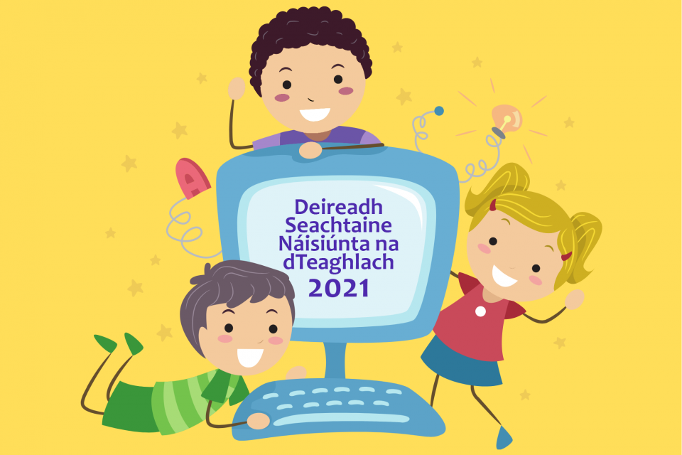 Deireadh Seachtaine Náisiúnta na dTeaghlach   21-22 Bealtaine 2021