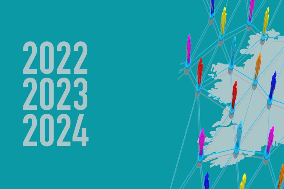 Scéim Forbartha Líonraí Gaeilge 2022-2024